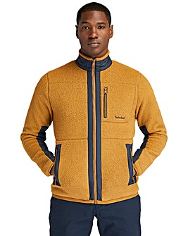 Timberland Mix Media Sherpa Fleece Jacket