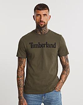 Timberland Grape Leaf Kennecbec River Linear T-Shirt
