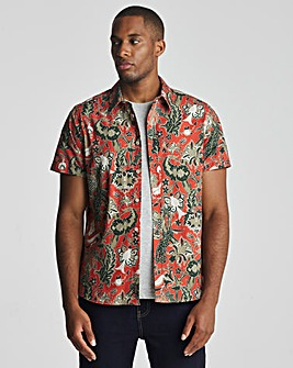 Joe Browns Leaf Print Shirt Long