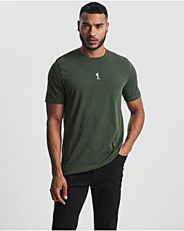 Religion Khaki Demand Short Sleeve T-Shirt