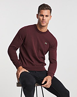 Lacoste Bordeux Classic Knitted Jumper