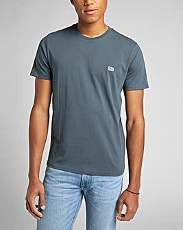 Lee Short Sleeve Dark Slate Patch Logo T-Shirt