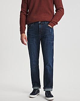 Voi Indigo Wash Straight Jean