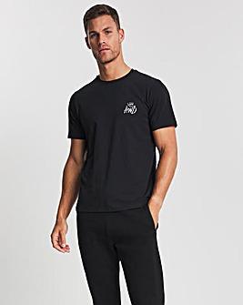 Kings Will Dream Black Crosby Short Sleeve T-Shirt