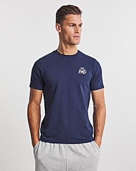 Kings Will Dream Navy Crosby Short Sleeve T-Shirt