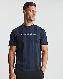 Kings Will Dream Black/White Vedlo Short Sleeve T-Shirt