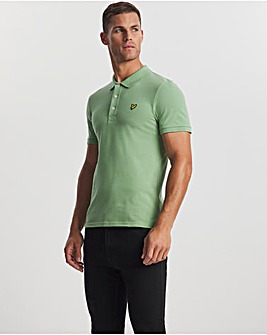 Lyle & Scott Fern Green Classic Short Sleeve Polo
