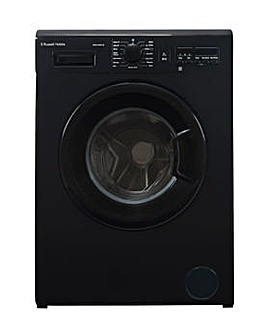Russell Hobbs Black 8kg Washing Machine