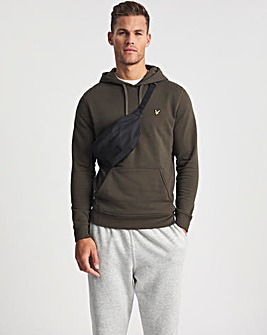 Lyle & Scott Olive Classic Pullover Hoodie