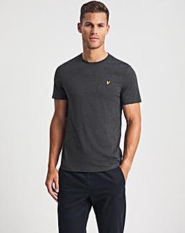 Lyle & Scott Charcoal Marl Classic Short Sleeve T-Shirt