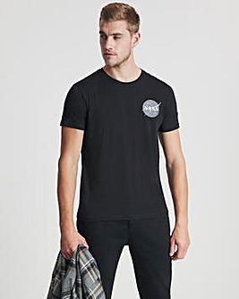 Alpha Industries Black Space Shuttle T-Shirt