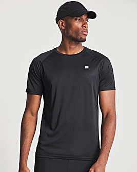 Superdry Black Train Active T-Shirt