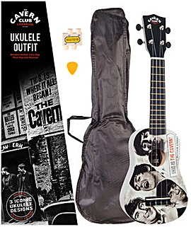Cavern Club Ukulele Outfit - Fab Faces