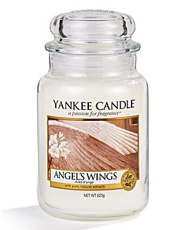 Yankee Candle Angel Wings Large Jar Candle