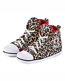 Personalised Ladies Slipper Boots