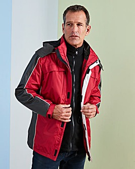 Premier Man Red 3 in 1 Jacket R