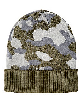 Camo Beanie Hat