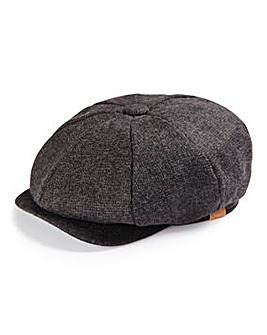 Charcoal Baker Boy Hat
