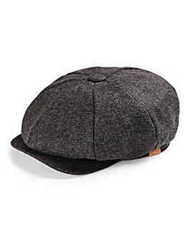 Charcoal Baker Boy Hat