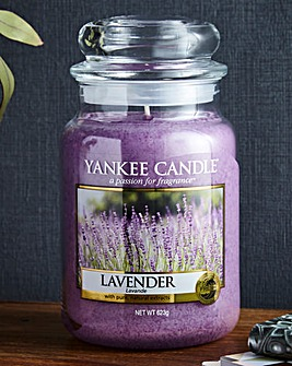 Yankee Candle Lavender Large Jar
