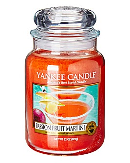 Yankee Candle Warm Summer Nights Passion Fruit Martini Large Jar