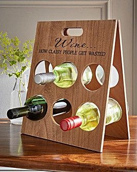 Classy People Wine Rack