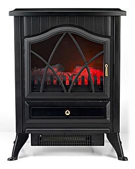 Oslo 1800W Black Stove