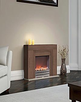 Winterley Oak Effect Fireplace Suite