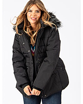 Lovedrobe Black Padded Coat