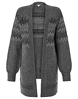 Monsoon Frankie Fairisle Cardigan