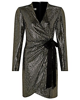 Monsoon Trinity Tux Sequin Dress