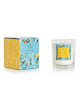 Oasis Leighton Freesia & Musk Candle