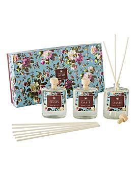 Oasis Renaissance Rose Diffuser Gift Box
