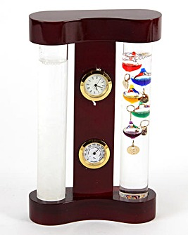 Galileo Thermomenter & Storm Glass