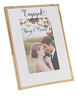 Engaged 4x6 Photo Frame