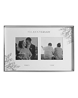 Double Anniversary Photo Frame