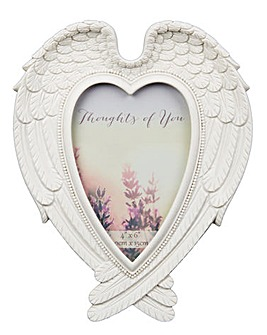 "Angel Wings 4x6"" Photo Frame"
