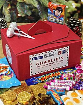 Personalised Santas Sweet Box