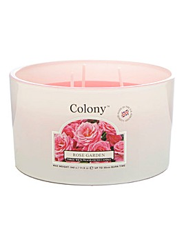 Colony Rose Garden Multi Wick Candle