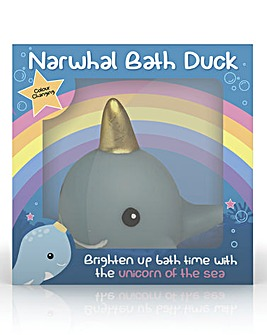 Light Up Narwhal Bath Duck