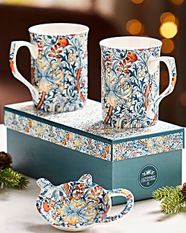Williams Morris Set Mug s & Tea Set
