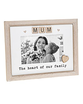 Scrabble Sentiments Frame