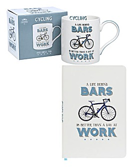 Cheeky Sport Mug and Notebook