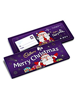 Cadbury Secret Santa 850g Bar
