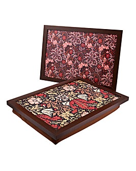 Set 2 William Morris Laptrays