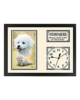 Personalised Dog Clock