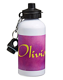 Personalised Character Water Bottle