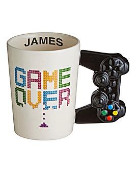 Personalised Game Over Mug