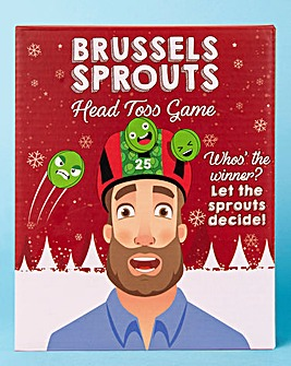Brussel Sprouts Head Toss Game