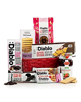 Diabetic Jute Bag Hamper